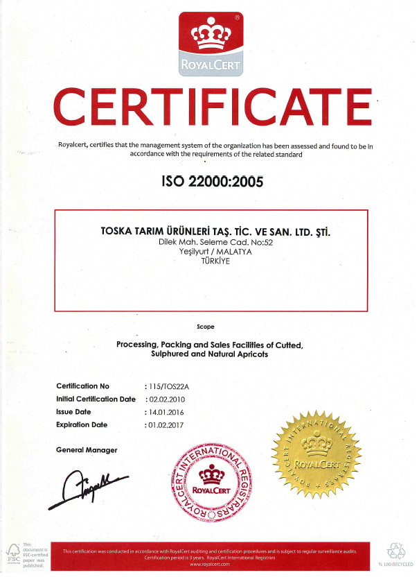 ISO-22000-2016